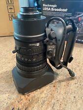 "Blackmagic Design Fujinon LA16x8BRM 2/3"" 4K Lens for Blackmagic URSA Broadcast"