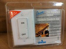 Leviton 6696-I Decora The Anywhere Switch Kit White New Sealed Package