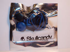Skullcandy 2XL Offset Earbuds Black / Blue , with Inline Mic model X20FHQ-846