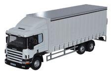 Scania Cargo 94D Curtainside Van Truck Oo Oxford Die-cast 76s94003 Lorry Uk