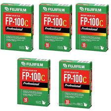 50 Fujifilm Fuji FP-100C Instant Color Film 50 Exposures