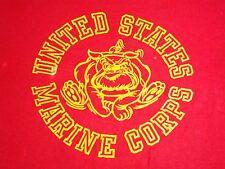Vintage United States Marine Corps USMC Military National Defense NEW T Shirt M