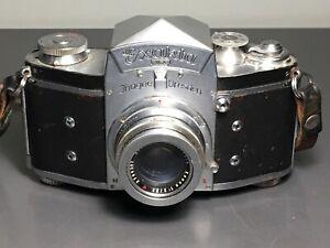 EXAKTA VX 35mm Film SLR CAMERA Schneider Kreuznach Xenon 1.2 / 50 Lens ~
