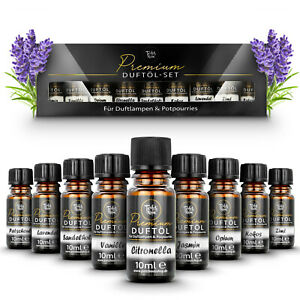 Teufelsküche® Duftöl-Set mit 10ml Fläschchen   9 verschiedene Premium Aroma-Öle