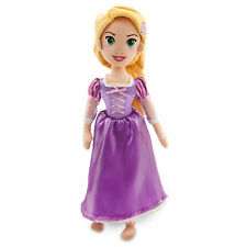 "Disney Store Authentic Tangled Princess Rapunzel Plush Toy Doll 18"" New"