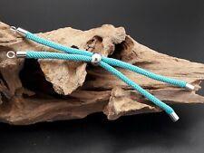 Base de pulsera cordon TURQUESA bisuteria abalorio hacer pulseras ajustable