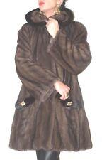 SALE CANADA Mink coat Nerzjacke Nerzmantel Visone Pelliccia norka 40-42 wNEU!NEW