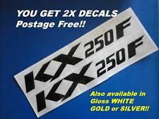 KX250F  KXF250 SIDE PANELS STICKERS