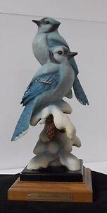 Mill Creek Studios - 52120 Blue's Song - Blue Jay Sculpture - Greg Peltzer