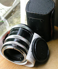 Canon FD  Auto extension tubes made in japan 12mm 20mm 36mm Vivitar badged