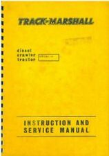 Track Marshall TM56 Crawler Tractor Operators Manual