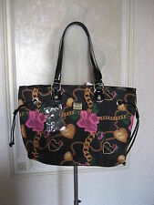 "BETSEYVILLE BY BETSEY JOHNSON ""HEART AND CHAIN"" TOTE BNWT"