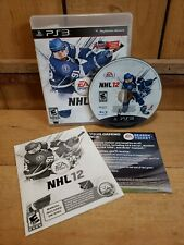 NHL 12 PlayStation 3 PS3 Complete