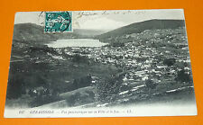 CPA CARTE POSTALE 1909 GERARDMER PANORAMIQUE VILLE ET LAC VOSGES LORRAINE