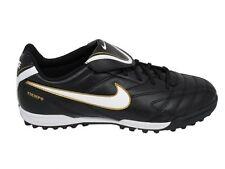Nike JR tiempo Natural 3 TS Football Boots Black-White size UK 4.5 EU 37.5