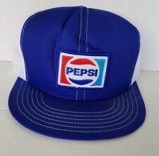 Vintage Pepsi Trucker Cap Hat Snapback mesh