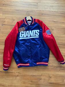 Mitchell & Ness New York Giants SV XXV Satin jacket size L new