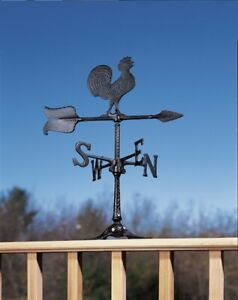"Whitehall 24"" Rooster Accent Weathervane includes Mount! Ships FAST!"