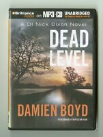 Dead Level: by Damien Boyd - Unabridged Audiobook - MP3CD
