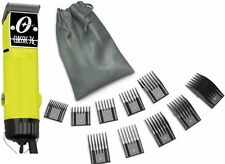 New Oster Classic 76 Yellow Color Edition Hair Clipper+10 PC Comb Set