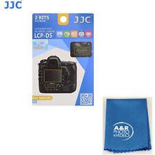 JJC LCP-D5 LCD Guard polycarbonate Film Screen Protector Nikon D5 2 pack cover