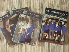 DVD SERIE EL INTERNADO LAGUNA NEGRA 2º TEMPORADA 8 CAP 3 DVDS ( 7 A 14 ) USADA