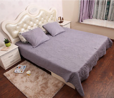 3 Pcs Set Blanket (200x240cm) + 2x Cushion Cover (63x63cm) For Bed Lounge Summer