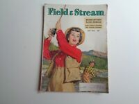 FIELD & STREAM MAGAZINE Vintage July 1952 Fishing Cover Art Raphael Cavaliere