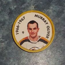 Murray Oliver Parkhurst Coin 1966-67 issued 1995-96 # 10 group 2