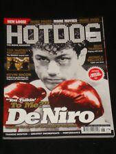 HOTDOG magazine #37, Robert DeNiro, Raging Bull, Thandie Newton, The Matrix RARE