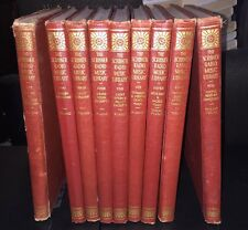 Scribner Radio Music Library 9 Volumes / Wier, Albert Music Instruction 1946 HC