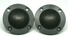 "New listing Dayton Audio Nd25Ta-4 1"" Titanium Dome Neodymium Tweeter Car Home 1Pair New!"