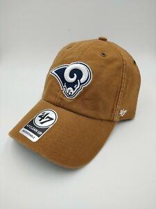 Los Angeles Rams '47 Brand Carhartt Clean up Adjustable Hat cap new NFL