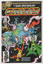 Crisis on Infinite Earths #1 (Apr 1985, DC) [1st Blue Beetle] George Perez c