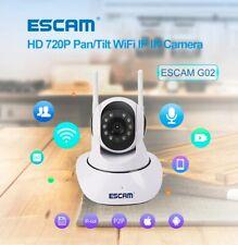 ESCAM G02 Dual Antenna 720P Pan/Tilt WiFi IP IR Camera