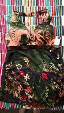 Lane Bryant Cacique Floral Swim Tankini Top 38C