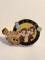 DLR  E Ticket Deluxe Starter Set Chip And Dale On Nemo Submarine Disney Pin (B7)
