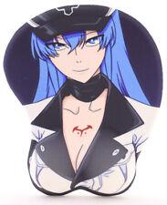 P-345 Esdeath Anime Manga Girl Mädchen ergonomisch 3D Brüste Mauspad Mousepad