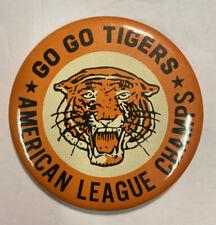 Vintage 1968 American Lg Champs Pin Detroit Tigers