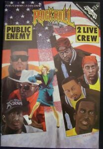 ROCK N ROLL 19 REVOLUTIONARY COMIC PUBLIC ENEMY 2 LIVE CREW RAP MUSIC 1991 VF+