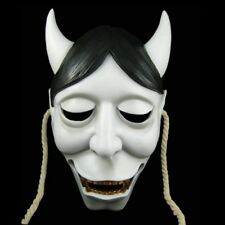 Japanese Hannya Devil Demon Monster Domino Halloween Scary Masks Cosplay Clothes