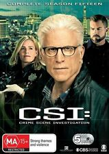 CSI - Crime Scene Investigation Series - Season 15 (DVD, 5-Disc Set) NEW