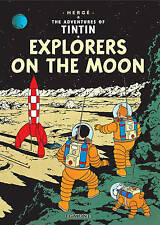 TINTIN - EXPLORERS ON THE MOON By Herge -BRAND NEW BOOK