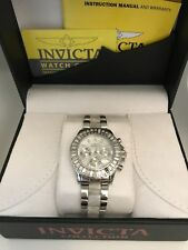 Invicta Women's Angel 22968 Silver Stainless-Steel Swiss Multifunction Fashion W