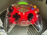 Original Xbox Controller Darth Vader Star Wars Red Translucent Model Intec