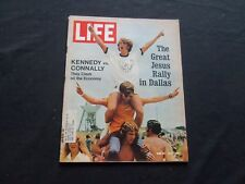 1972 JUNE 30 LIFE MAGAZINE - YOUNG CRUSADERS FOR JESUS - L 1860