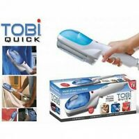 Tobi Quick Fabric Steamer Compact, Powerful, Light Weight Removes Wrinkles/Odors