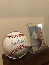 Stan Musial Autographed Baseball