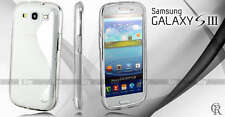 NEW CLEAR S CURVE GEL CASE COVER SAMSUNG Galaxy S3 i9300 SIII S III + SP + Strap