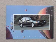 Volvo 440 & 460 Xi Limited Edition 1992 UK Market Sales Brochure Pristine